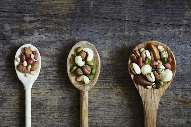 nuts inside