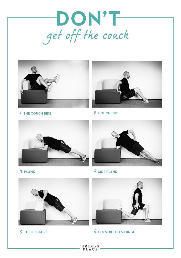 Couch Workout Übungen