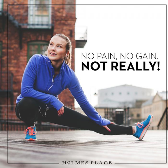 No Pain No Gain Workout Motivation