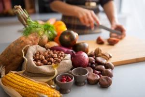 perder peso vegetais