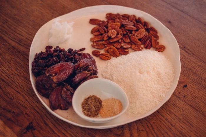 Gesunde Rezepte Pralinen Pekanuss Cardamom