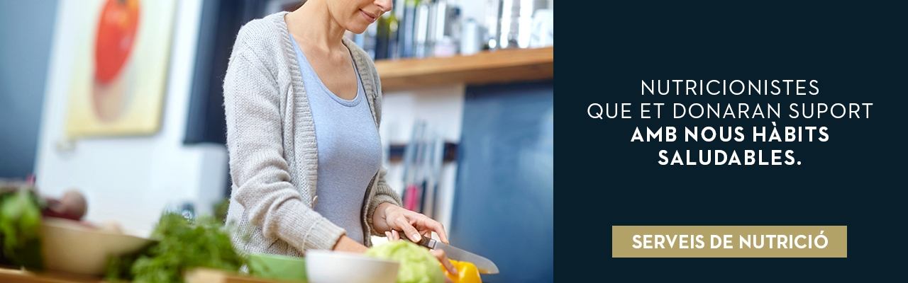 Servei nutrició | Gimnàs Holmes Place