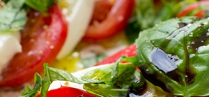 tomate e mozarella