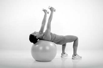 Hochzeitskleid Workout Fitness Schlank Figur Kurzhantel Fly 2