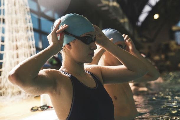 swim workouts intext