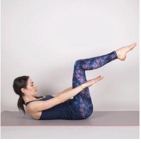 90 degree knee abs final yoga 1