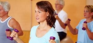 Senhoras a praticarem exercício físico | Holmes Place
