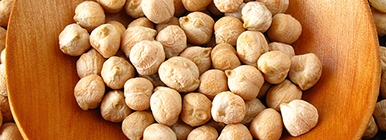 Proteína de origem vegetal - grão de bico | Holmes Place