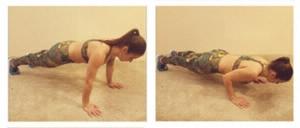 extensão de braços fitness