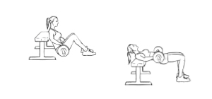 Hip Thruster   Exercícios em casa para mulheres