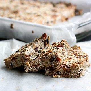 baked granola bar tray | Holmes Place