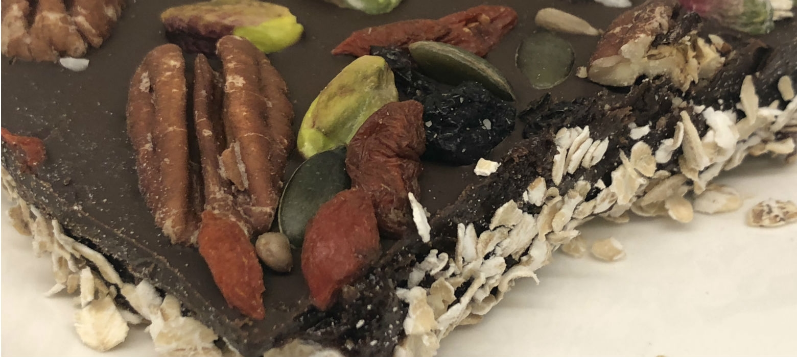 Holmes Place | vegan superfood Raw Chocolate
