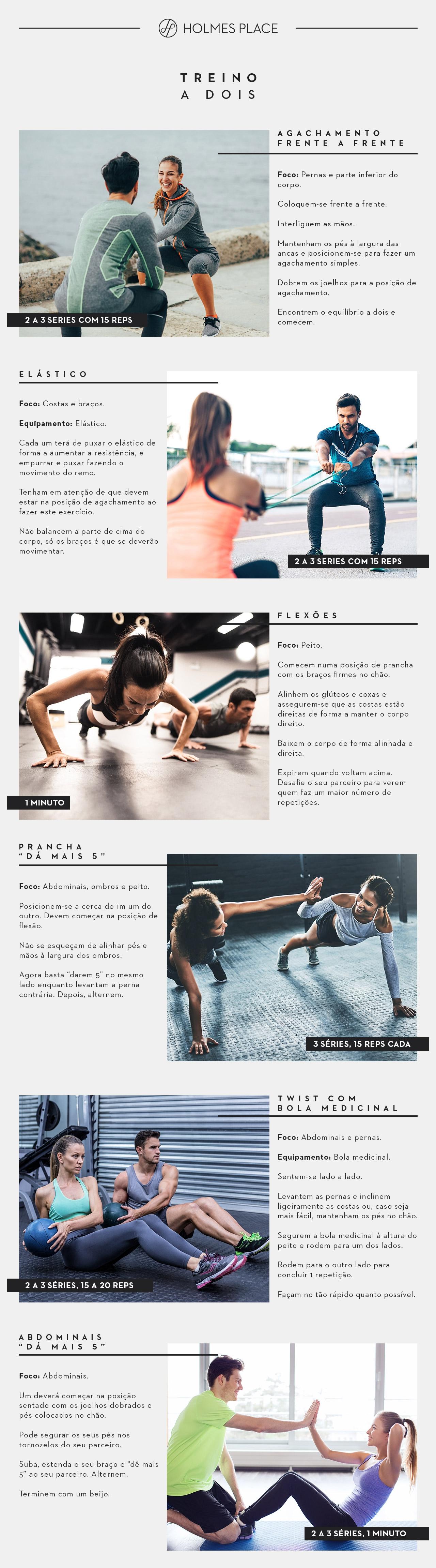 Treino a 2 | Dia dos Namorados | Fitness | Holmes Place