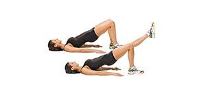 extensão da perna