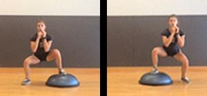 squat side jump bosu perder peso