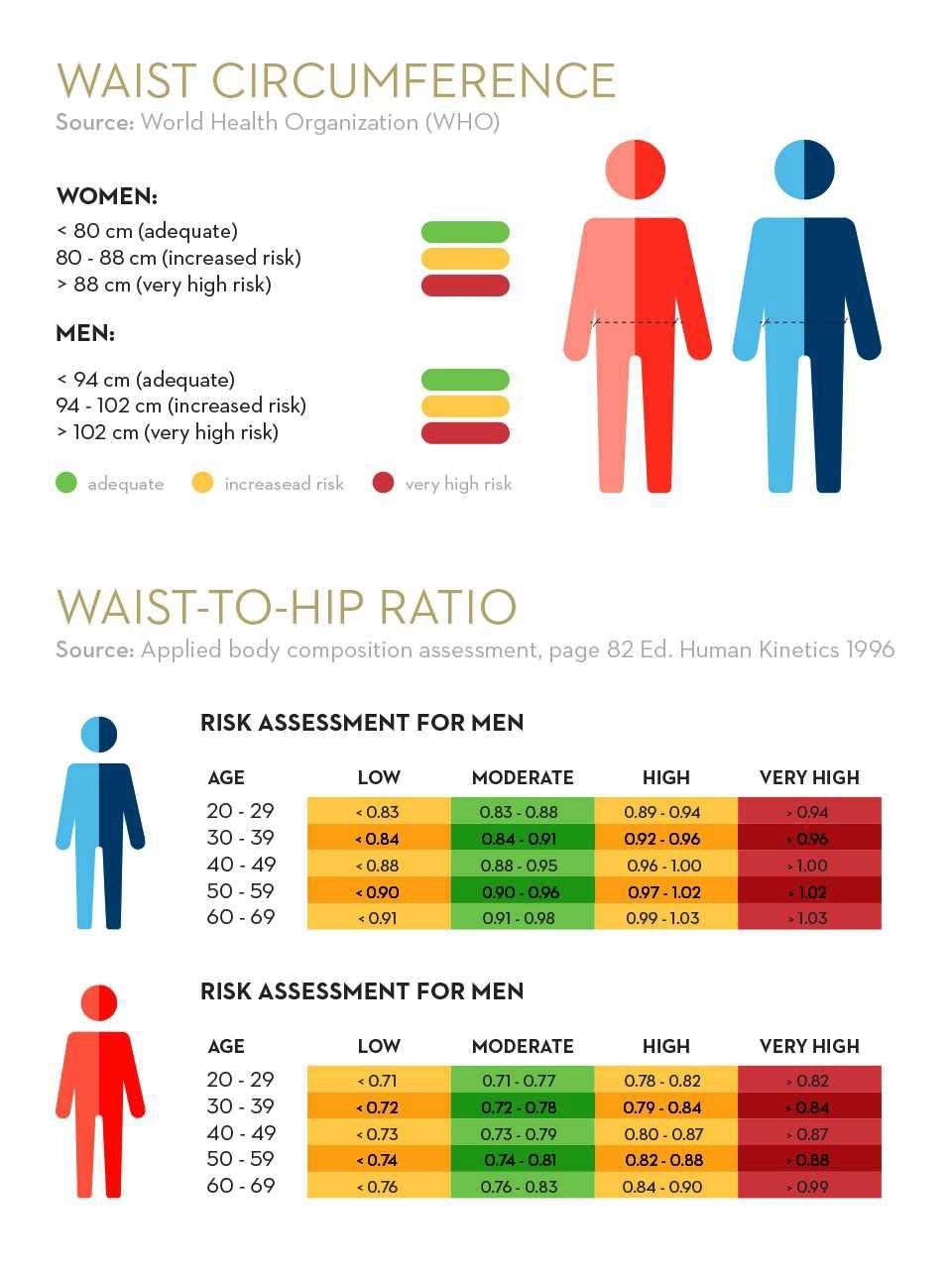 tabela dotycząca wymiarów ciała | Holmes Place