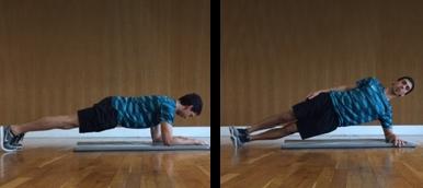 Exercícios isométricos para os abdominais de dificuldade media - Holmes Place