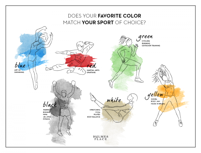 Power Of Colors Infographic