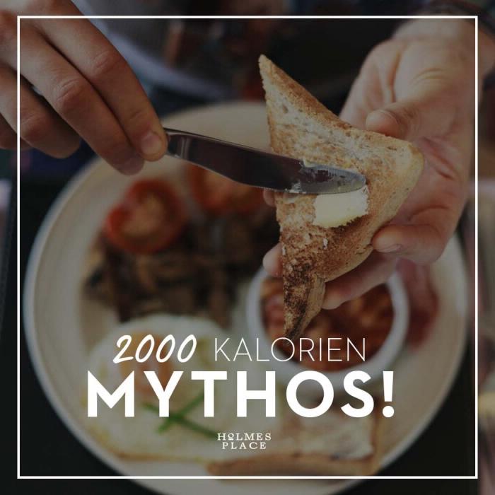 2000 Kalorien Mythos