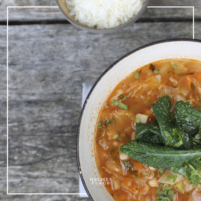 Gesundes Rezept Ribollita Suppe