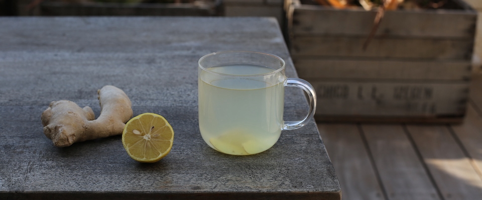 warm water lemon ginger detox cleanse auyrvedic Holmes Place