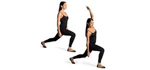 Flexão lateral corpo
