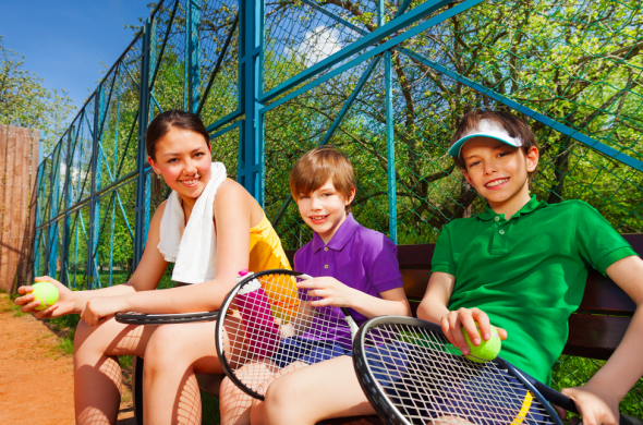 easter - activities tennis