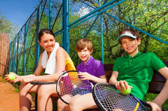 easter - activities tennis