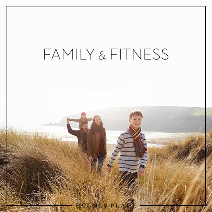 Familie Workout Training