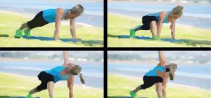Shoulder Bridge | Exercícios em casa mulheres