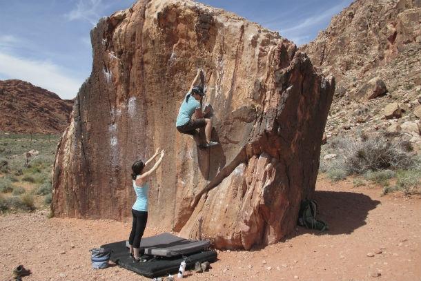 bouldering intext