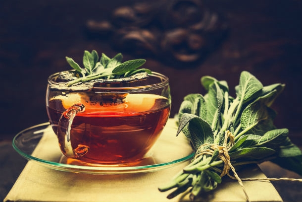 green tea intext