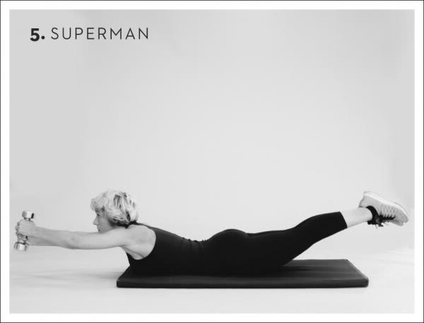 Rücken Übungen Superman