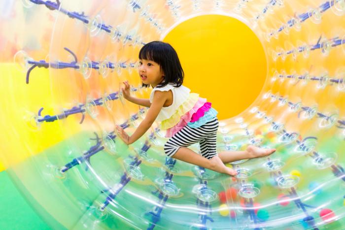 Sport Aktivität Kinder Ostern Feiern Rollen
