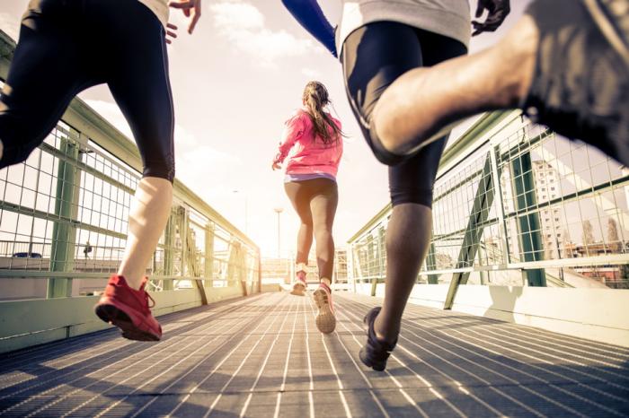 Gesund Fit Vorsatz 2017 Jahr Workout
