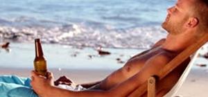 intoxicação por álcool praia