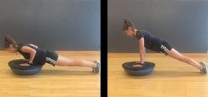 push up flexões bosu perder peso