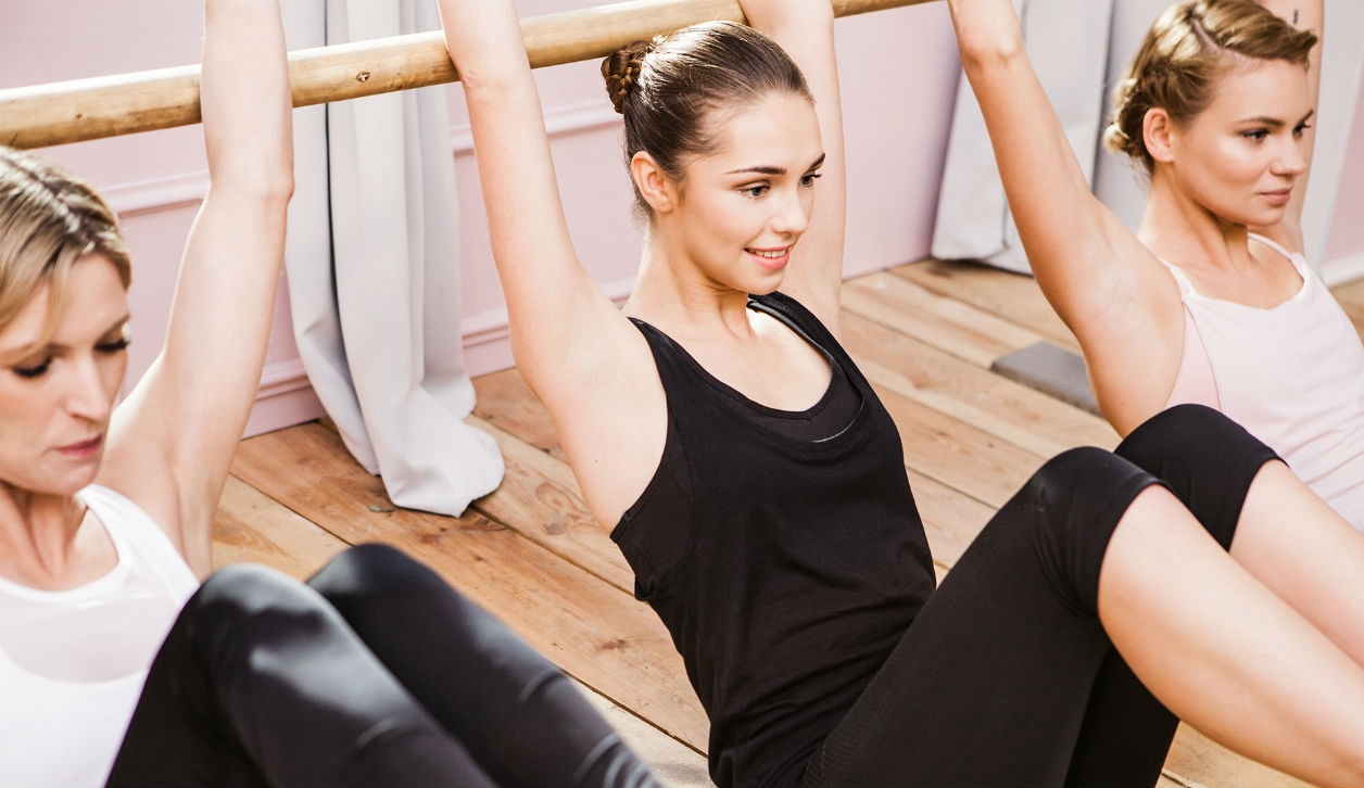 3 Frauen beim Ballet Flow Kurs