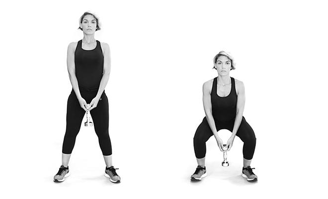 Sommer-Special Workout für Po und Oberschenkel Übung 1