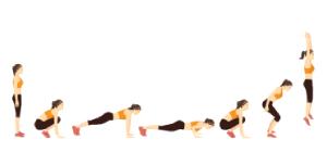 Burpee total   Exercícios em casa para mulheres