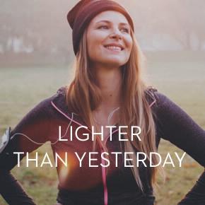 Lighter than yesterday eng