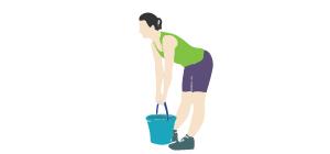 DeadLift   Exercícios em casa para mulheres