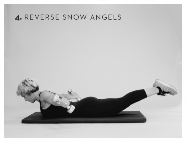 Rücken Übungen Engel