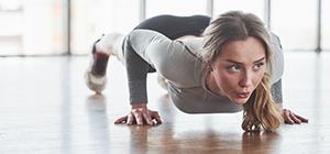 Mulher a fazer exercício físico | Sistema Imunitário | Holmes Place