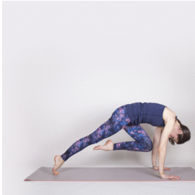 Dynamic core plank yoga 2