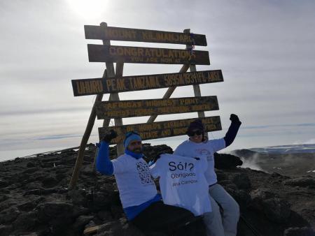 testemunho Kilimanjaro Julho 2017