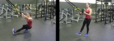 Mulher a fazer Pistol Squat - Agachamento | Fitness | Holmes Place