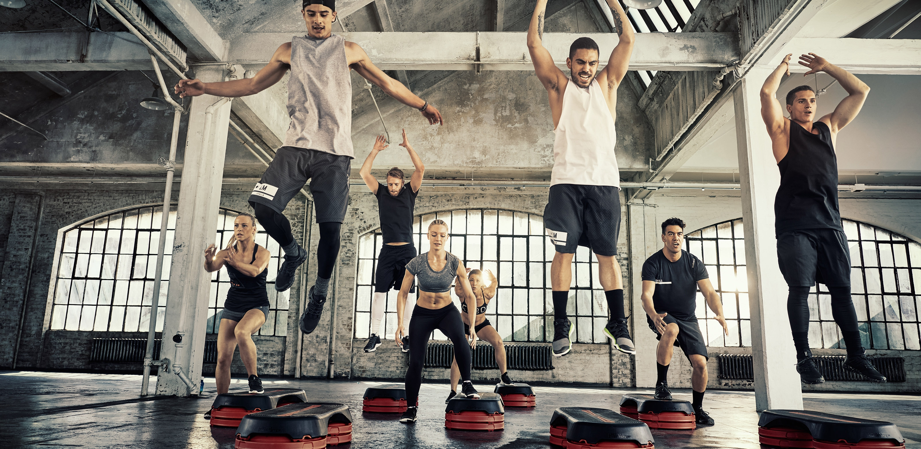 Les Mills Grit Plyo bei Holmes Place