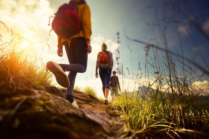 Outdoor-Workout-Natur-Wandern