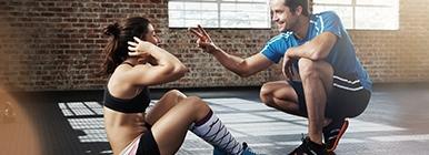 Treino no ginásio com Personal Trainer | Holmes Place